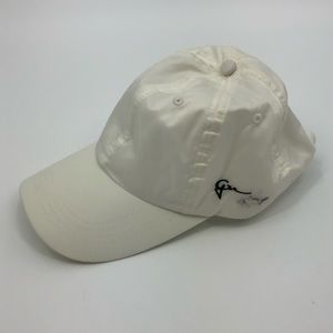 Greg Norman Stain Off White Baseball Hat Cap